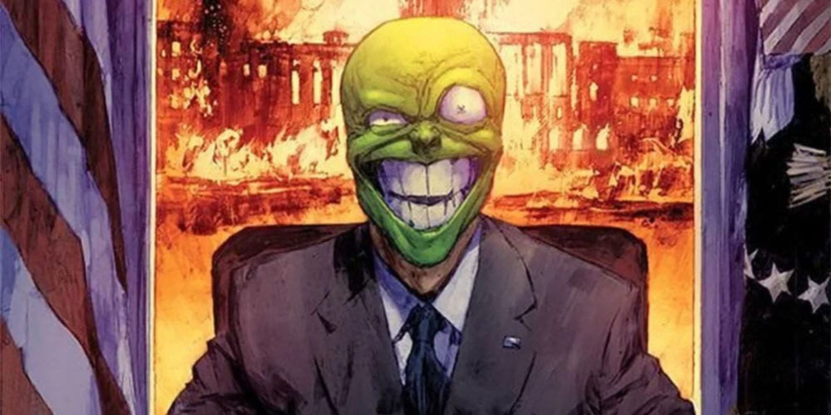 Dark Horse's The Mask Comic Book Character