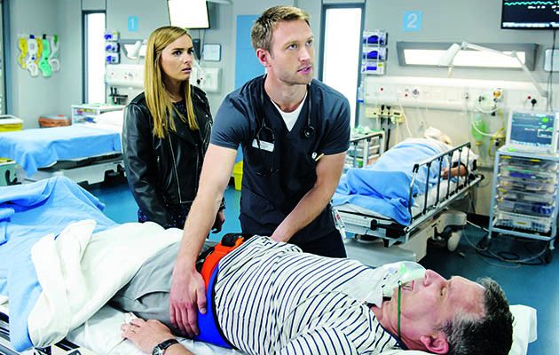 Bored of breaking hearts, Alicia nips home to see her parents tonight... and ends up back in the ED
