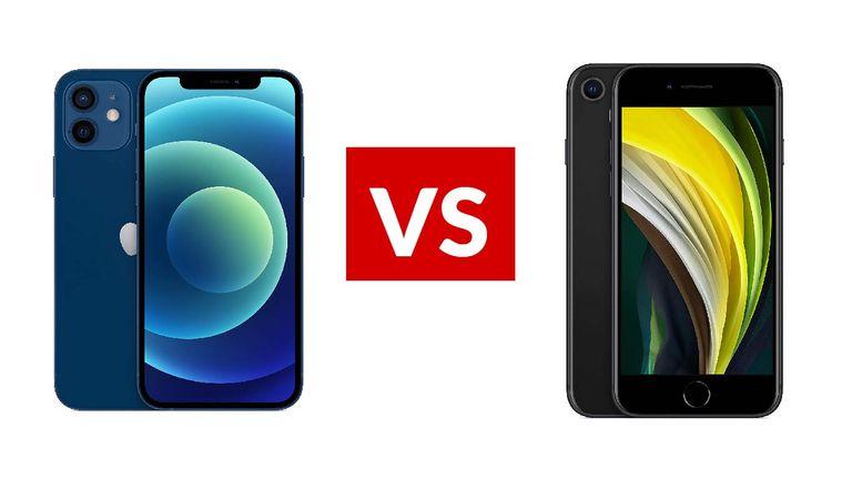 Apple iPhone 12 vs Apple iPhone SE (2020)