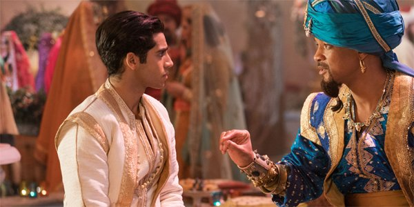 Aladdin's Mena Massoud Reveals An All-Improv Scene He Performs With Will Smith