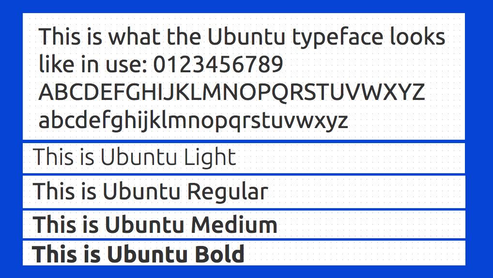 Best free fonts: Ubuntu