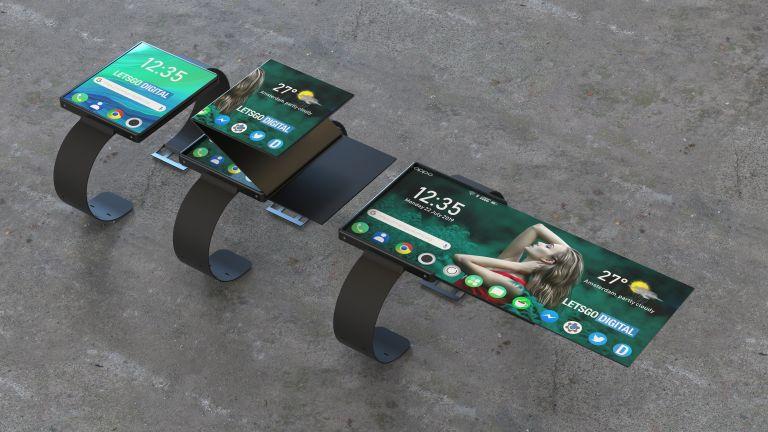 Oppo leak reveals crazy new folding smartwatch design
