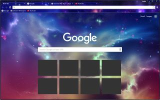 How to change the Google background image