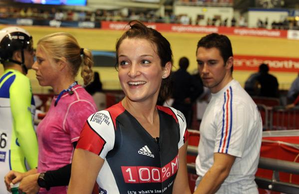 Lizzie Armitstead scratch race win Manchester world cup