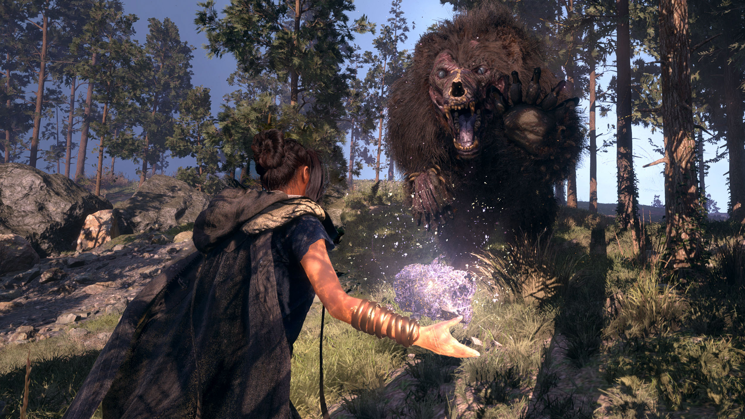 Battle dragons and zombie bears in Square Enix's Forspoken, coming in 2022