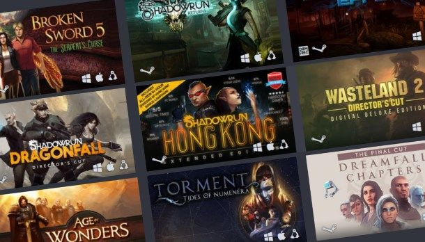 The new Humble Bundle features vintage RPGs Torment, Wasteland, Shadowrun, and Dreamfall