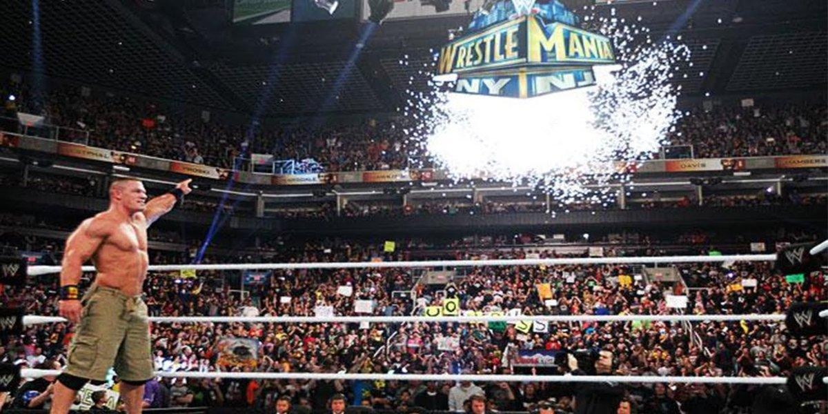 John Cena at Royal Rumble 2013