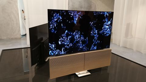 Bang and Olufsen's new OLED TV has unfolding speakers