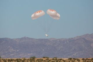 SpaceX conducted the 27th and final test of the Mark 3 parachute system for its Crew Dragon capsule on May 1, 2020.