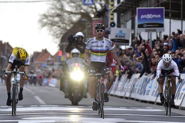 Peter Sagan wins the 2016 Ghent-Wevelgem