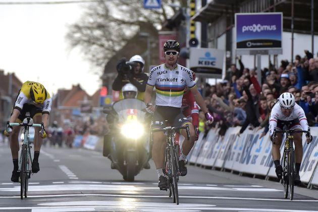 Peter Sagan wins the 2016 Ghent-Wevelgem