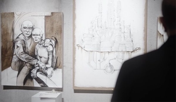 Travelers Season 2 artwork of the future on Netflix