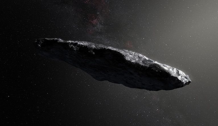 Interstellar visitor 'Oumuamua could actually be a cosmic dust bunny - Space.com