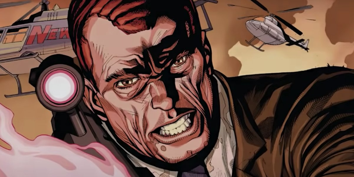 Norman Osborn kills the Skrull Queen in Secret Invasion