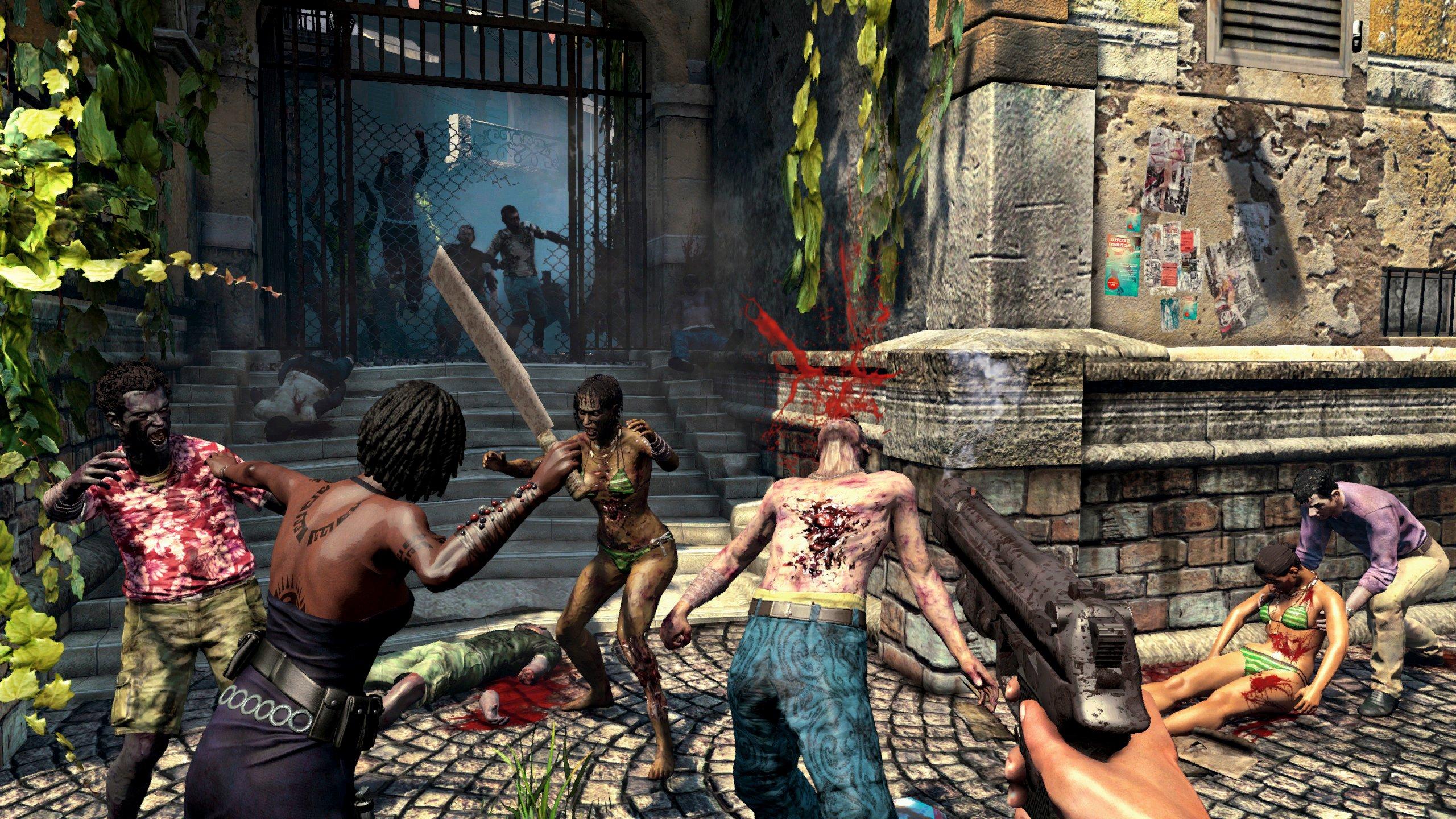 Dead Island Riptide Screenshots Drown Palanai In Blood #24752
