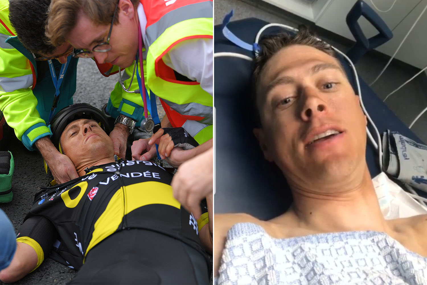 Niki Terpstra will miss Paris Roubaix after suffering 'severe concussion' in Tour of Flanders crash