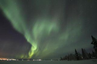 Aurora near Kiruna, Northern Sweden