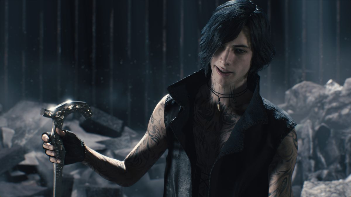 Devil May Cry 5's new trailer reveals third playable character, this 2006 boyband guy