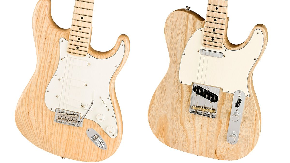 Fender strips down with limited-edition Raw Ash American Performer Stratocaster and Telecaster models