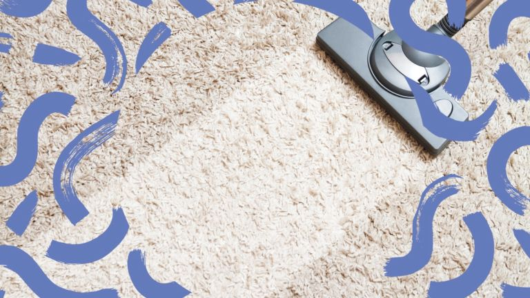 deep cleaning carpet with hoover