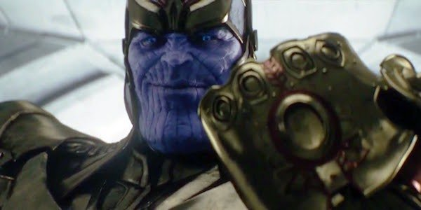 The Avengers Infinity War Thanos Infinity Gauntlet