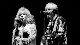 Stevie Nicks and Tom Petty onstage in 1981