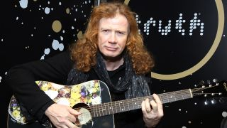 Megadeth leader Dave Mustaine reports he's almost through his last round of throat cancer treatment, as he thanks fans for their support