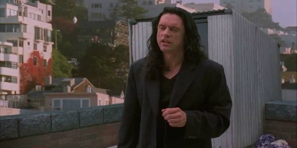 Tommy Wiseau Johnny The Room