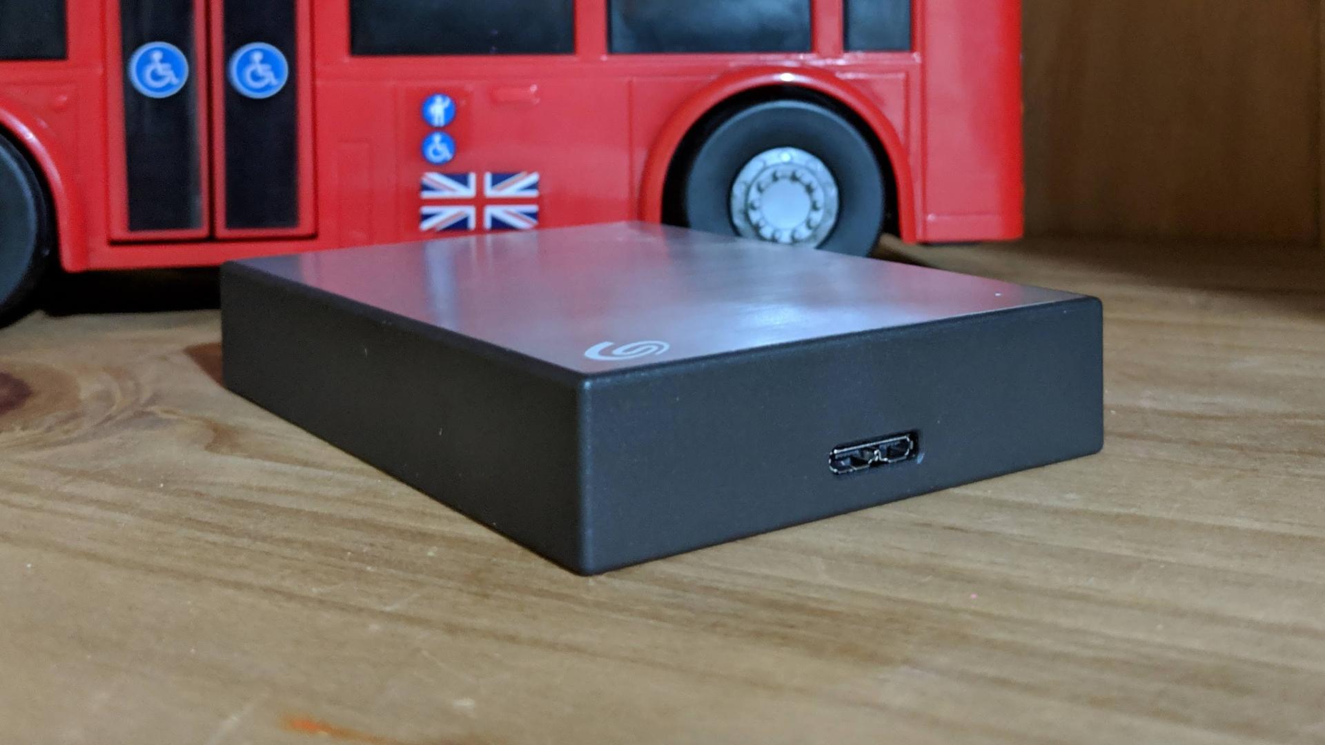 "Seagate Backup Plus Slim 4TB 2.5/"" Portable External Hard Drive Blue"