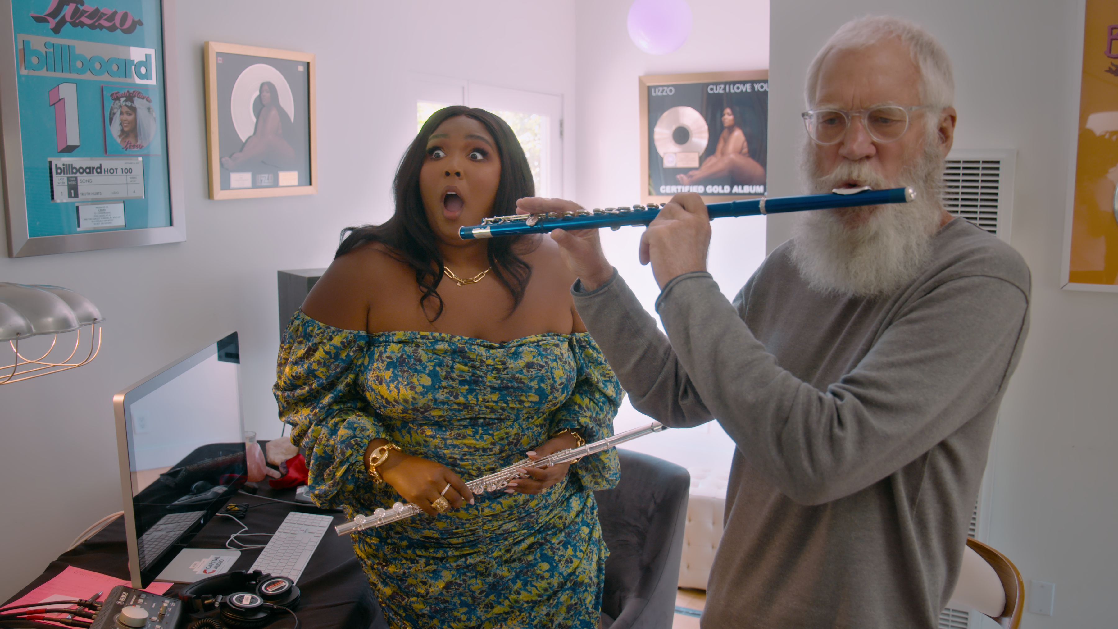 David Letterman is back with Kim K, RDJ, Chappelle and Lizzo for Season 3 |  WhatToWatch