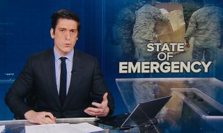 David Muir hosting ABC's 'World News Tonight'