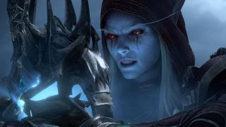 An image of Sylvanas Windrunner from World of Warcraft