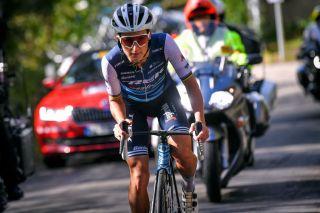 Trek-Segafredo's Lizzie Deignan races to victory at the 2020 Liège-Bastogne-Liège