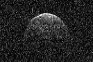 Radar View of Huge Asteroid Florence