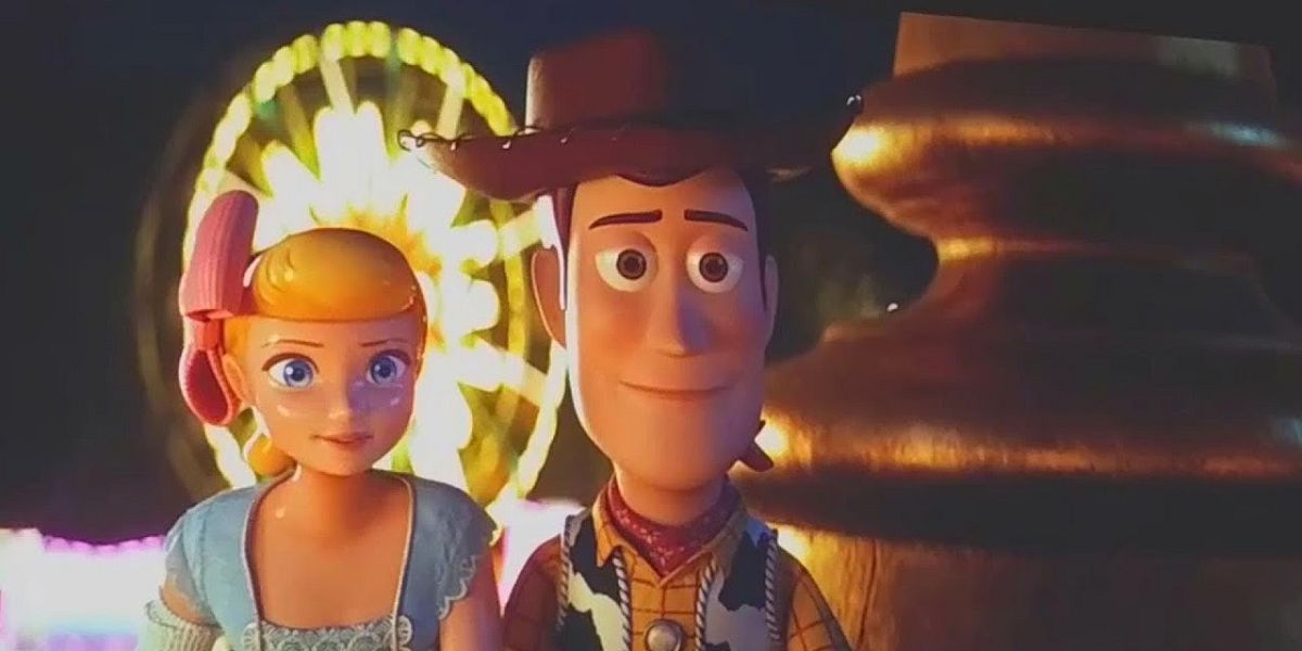 Bo and Woody at the end of Toy Story 4