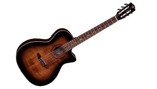 Luna's new Art Vintage Nylon acoustic-electric guitar