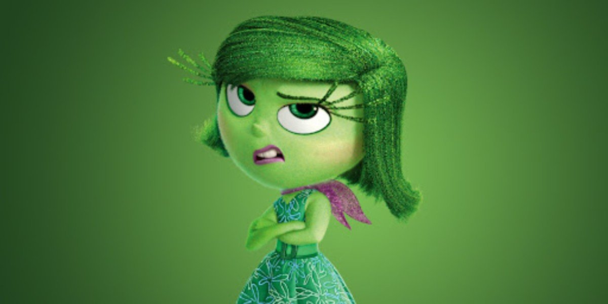 Mindy Kaling Voicing Disgust in Inside Out