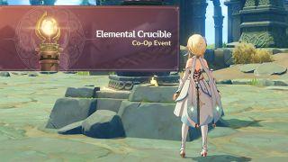 Genshin Impact Elemental Crucible Co-op