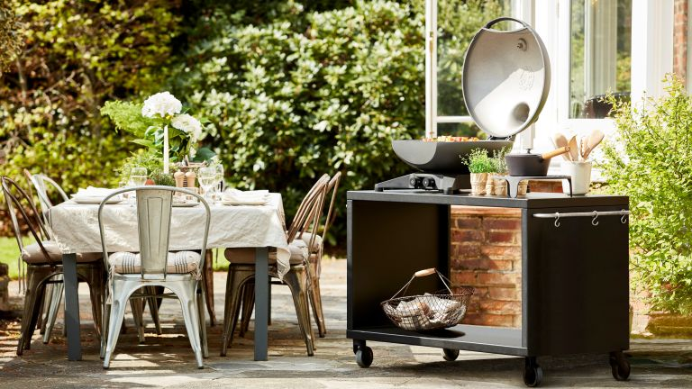 Outdoor grill ideas: Morsø open top grill