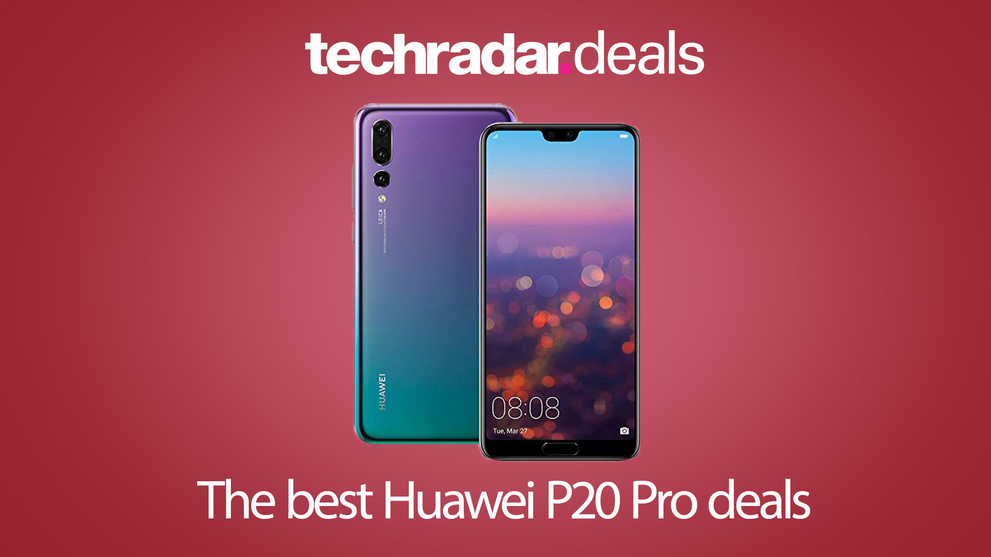 The best Huawei P20 Pro deals in August 2019 | TechRadar