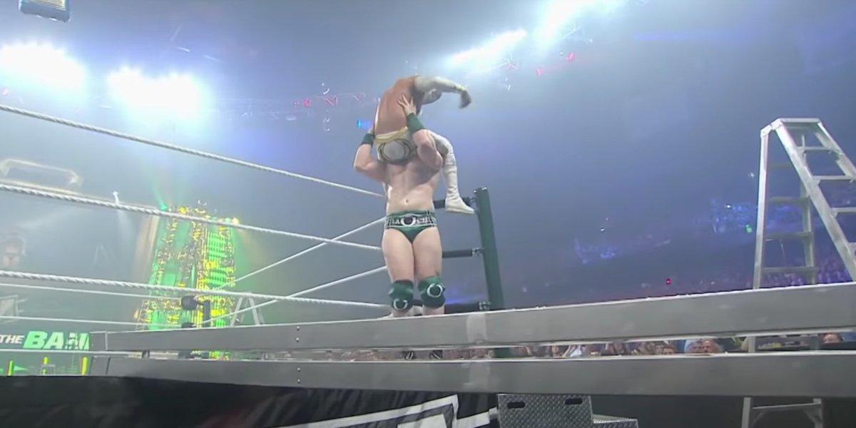 Sheamus and Sin Cara at Money in the Bank 2011