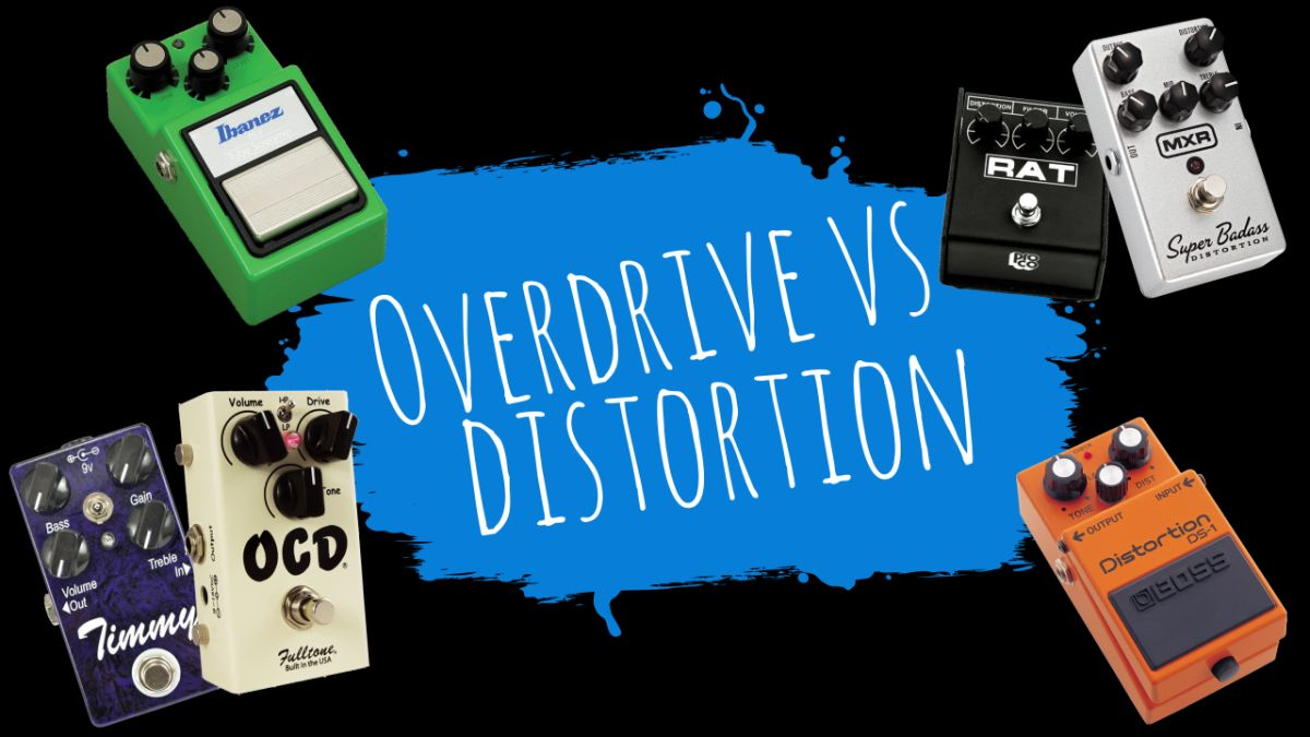 Overdrive vs distortion: explore the sounds, the players and the effects pedals to try