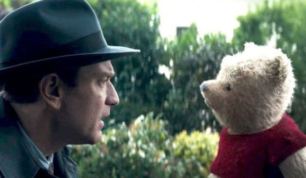 Christopher Robin 2019 movie starring Winnie the Pooh