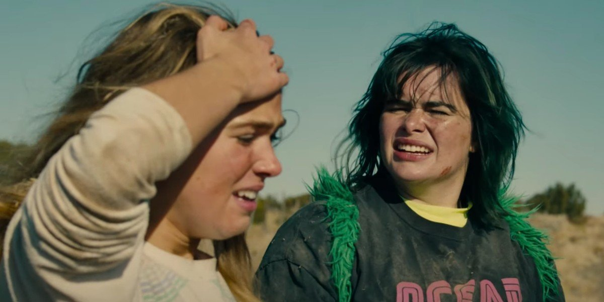Haley Lu Richardson and Barbie Ferreira in Unpregnant