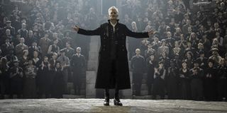 Johnny Depp as Grindelwald in Fantastic Beasts