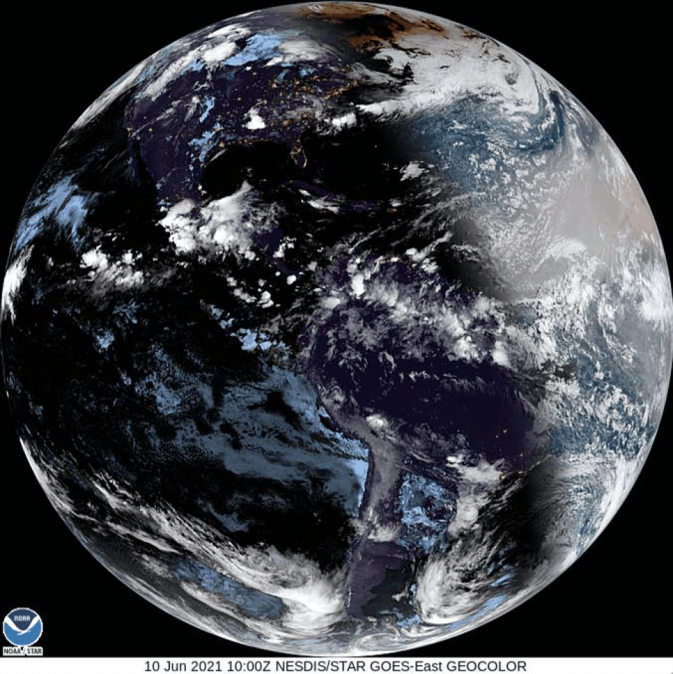 Solar eclipse from space! See satellite view of moon casting its shadow on Earth (video)
