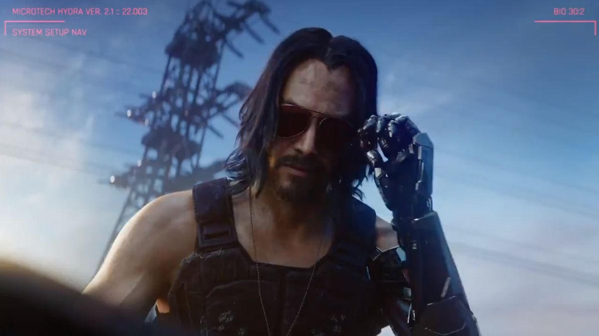 In Cyberpunk 2077, Keanu Reeves is the key to immortality