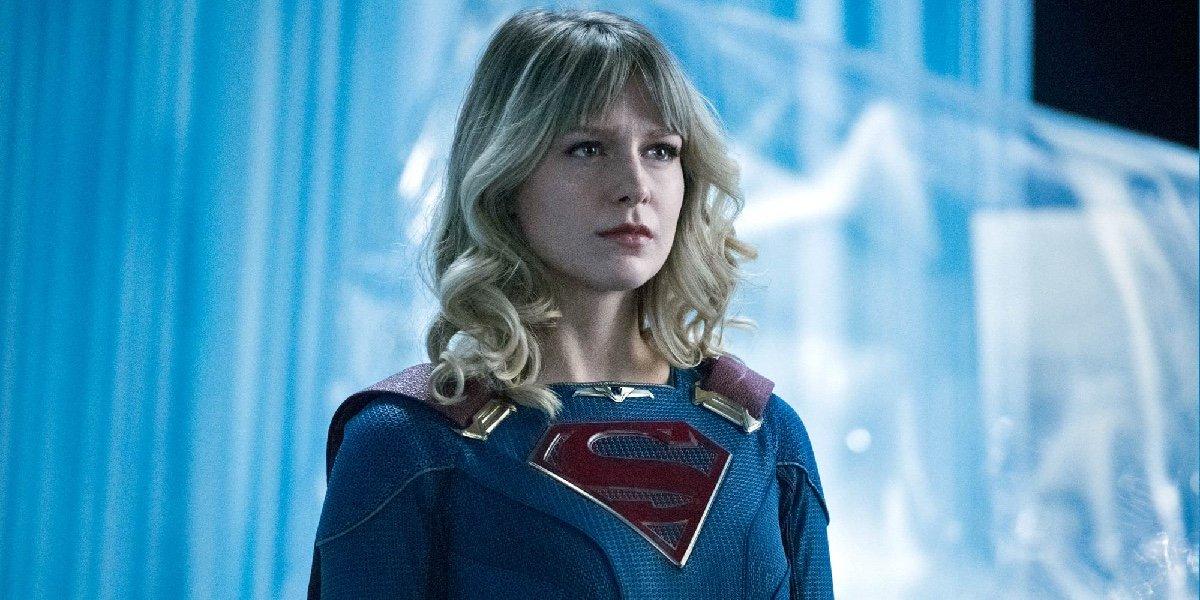 Melissa Benoist as Kara Danvers/Supergirl in Supergirl.