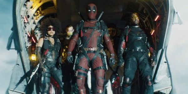 The full X-Force shot in Deadpool 2