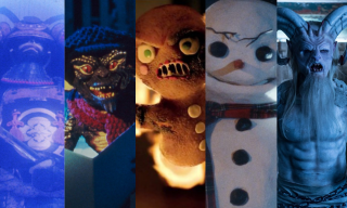 The Christmas monsters are running loose.